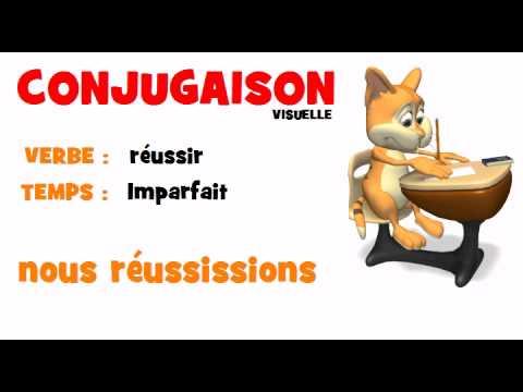 Conjugaison Reussir Imparfait Youtube