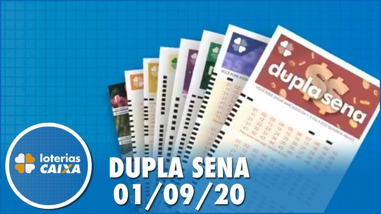Resultado da Dupla Sena - Concurso nº 2125 - 01/09/2020