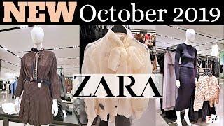 ZARA #OCTOBER2019 NEW Fall Win…