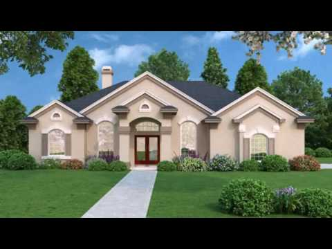 Contemporary Florida Style House Plans
