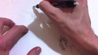 How to Draw Alucard/Hellsing and Vampire Hunter D. By Jim McGee in 10 minutes