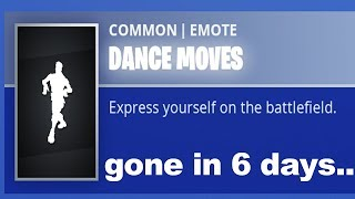 Default Dance might get removed from Fortnite..