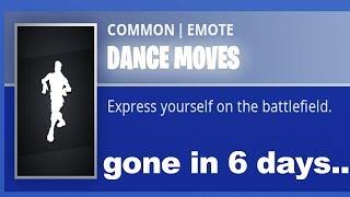La danse par défaut peut être supprimée de Fortnite.