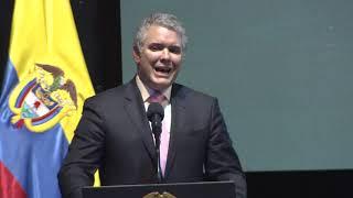 Presidente Duque en la instalación del XXI Encuentro de la Jurisdicción Ordinaria
