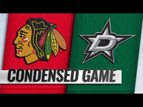 12/20/18 Condensed Game: Blackhawks @ Stars