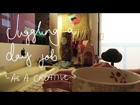 Juggling A Day Job As A Creative ~Weekly vlog~| Chelsea-Lee