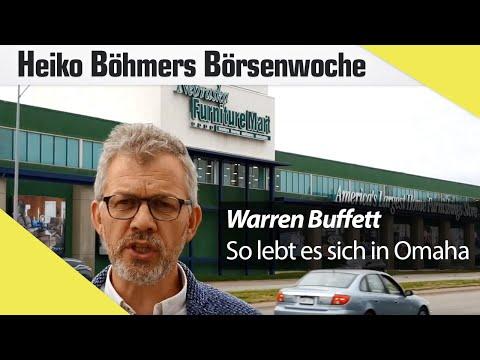 So lebt es sich in Omaha, dem Zuhause von Warren Buffett!