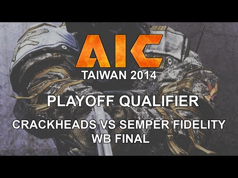 CGO AVA - Crackheads vs Semper Fidelity - WB Final - AiC Playoff Qualifier 2014