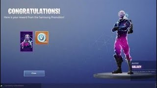 HOW TO GET THE GALAXY SKIN IN FORTNITE WITHOUT SAMSUNG GALAXY NOTE 9(WORKING METHOD)