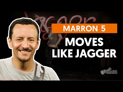 Moves Like Jagger - Maroon 5 (aula de baixo)