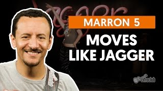 Moves Like Jagger - Maroon 5 (aula de baixo)