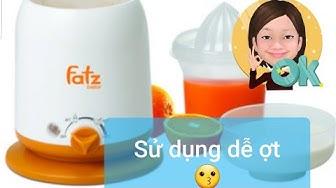 Cách sử dụng máy hâm sữa Fatz baby 👶🥛🍼   Nội trợ hiện đại 🤱