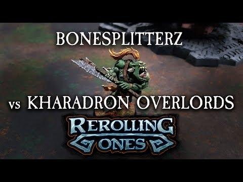 Warhammer: Age of Sigmar Battle Report - Bonesplitterz vs Kharadron Overlords