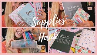 BACK TO SCHOOL SUPPLIES HAUL || Chiara Di Quarto