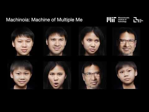 Machinoia, Machine of Multiple Me: Integrating with Past,Future and Alternative Selves