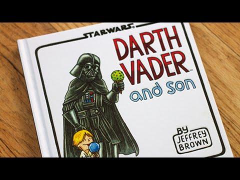 Star Wars: Darth Vader and Son by Jeffrey Brown Read Aloud Children's Book