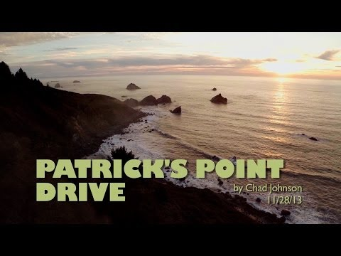 Patrick's Point Drive - Aerial Views - Trinidad Ca