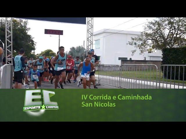 IV Corrida e Caminhada San Nicolas