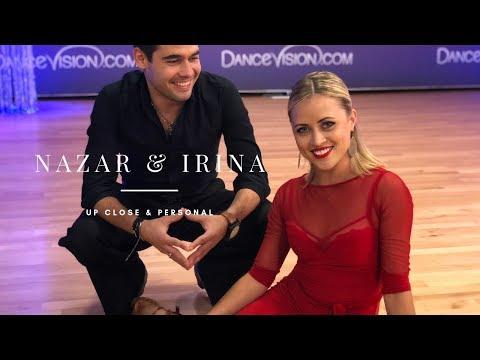 Up Close & Personal With Nazar Norov & Irina Kudryashova | Dance Vision By Wayne Eng
