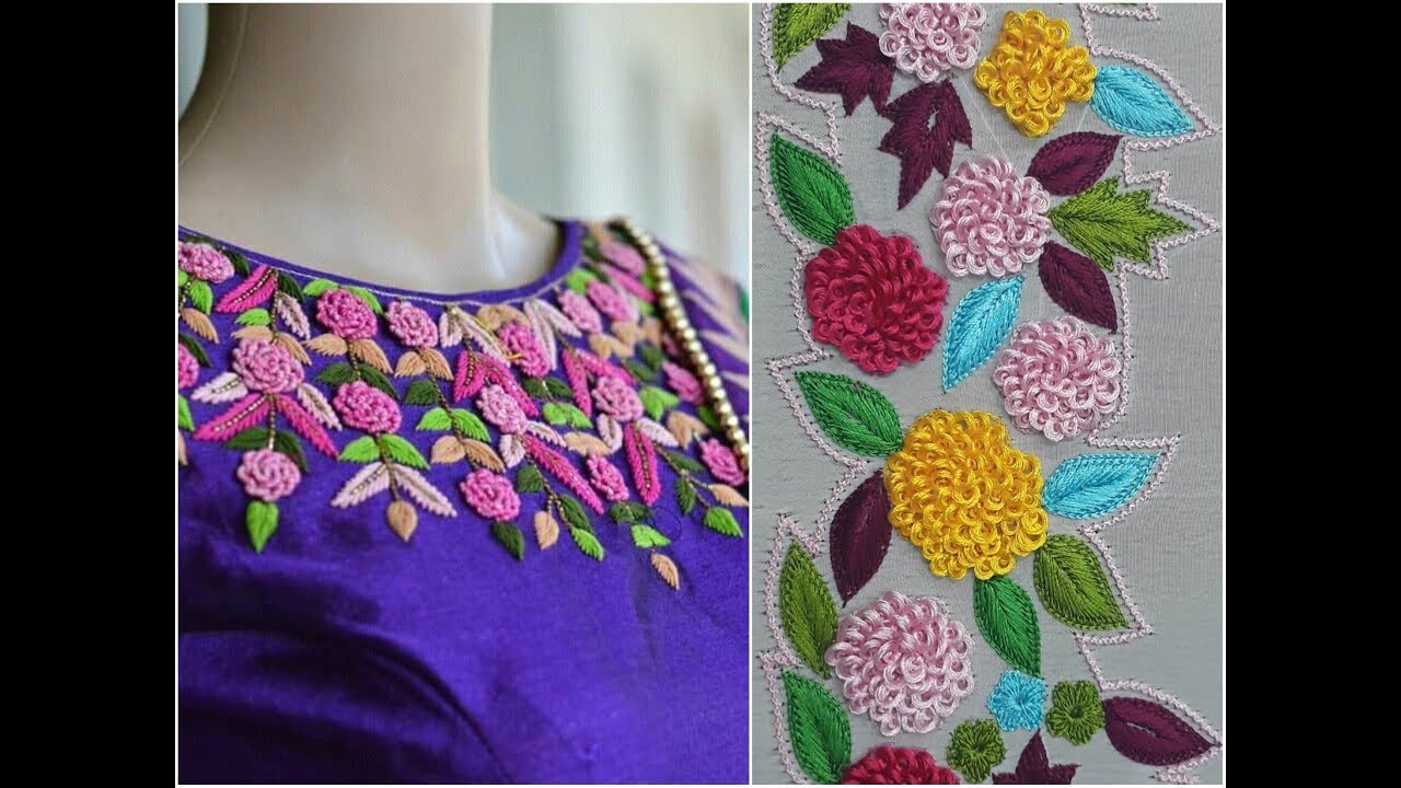 How To Make Saree Embroidery Designs