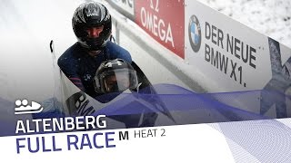 Altenberg | BMW IBSF World Cup 2016/2017 - 2-Man Bobsleigh Heat 2 | IBSF Official