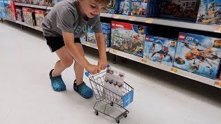 Toy Shopping At Walmart With A Tiny Cart!
