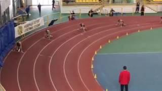 Чемпионат Украины по лёгкой атлетике в помещении, 2018 год, Сумы  Бег 200 метров Девушки Финал