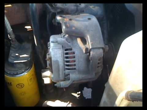 1994 dodge ram 2500 alternator replacement youtube. Black Bedroom Furniture Sets. Home Design Ideas