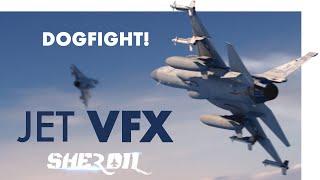 Jet VFX: JF-17 Dogfight scene from Sherdil