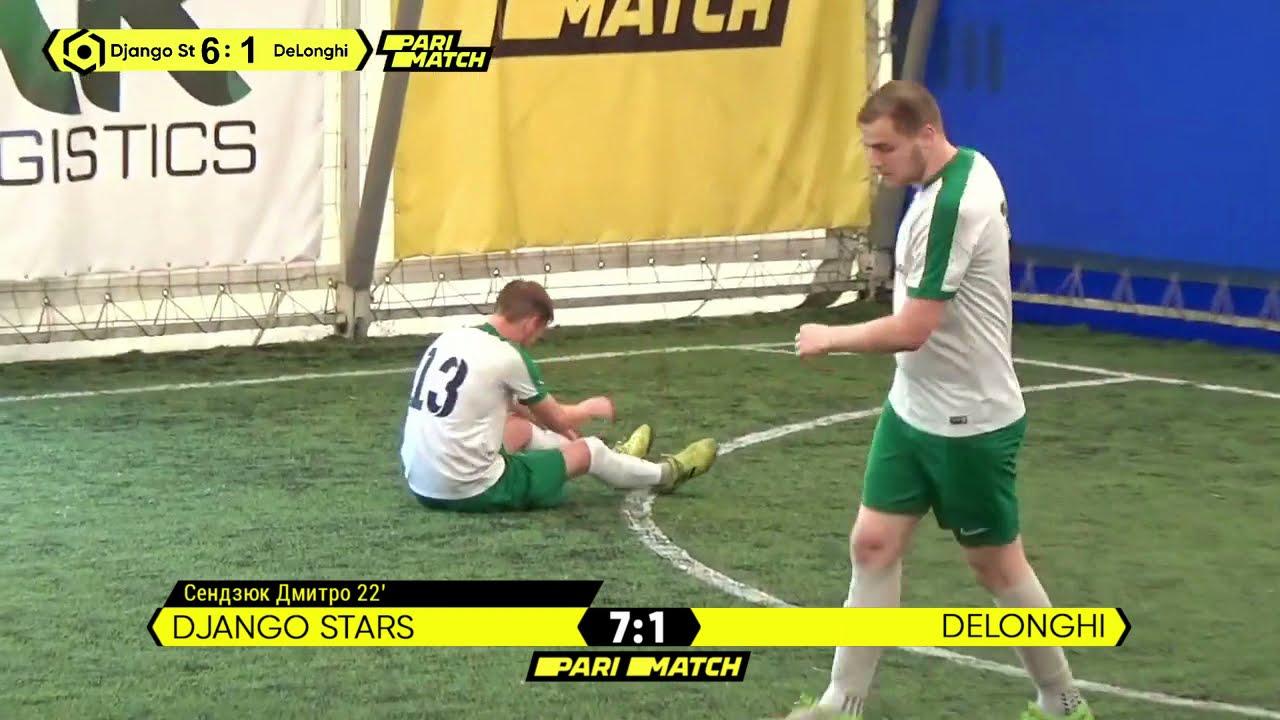 Огляд матчу | Django Stars 8 : 1 DeLonghi