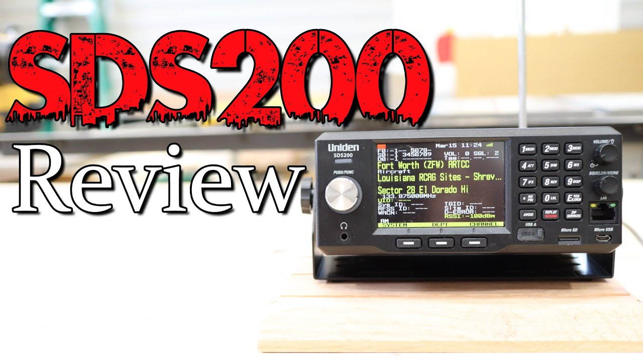 Uniden SDS200 Review