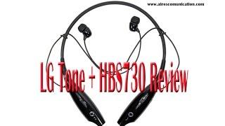 LG Tone + HBS730 Detail Review