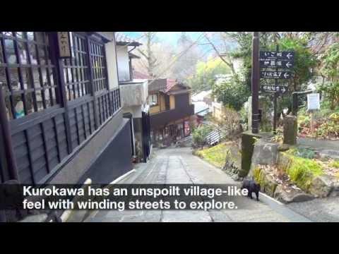 Kurokawa Spa Town, Kumamoto, Japan