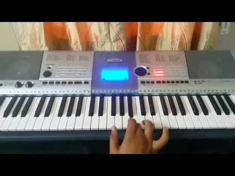 Manam songs on keyboard - kanipinchina ammake instrumental