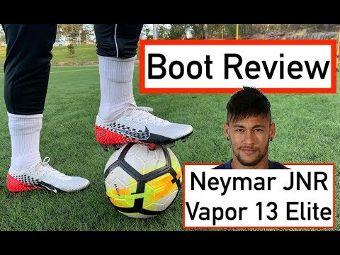 NEYMAR JNR'S NEW BOOT REVIEW | Vapor 13 Elite Chrome Red / Black | Joner 1on1