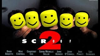 All Scream 2 Deaths But With Minecraft And Roblox Death Sounds