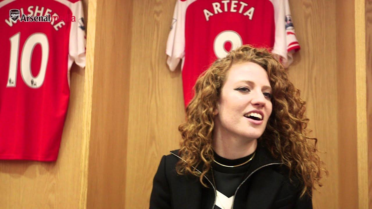 Emirates Wallpaper Hd Arsenal Fan Jess Glynne Visits The Emirates Youtube