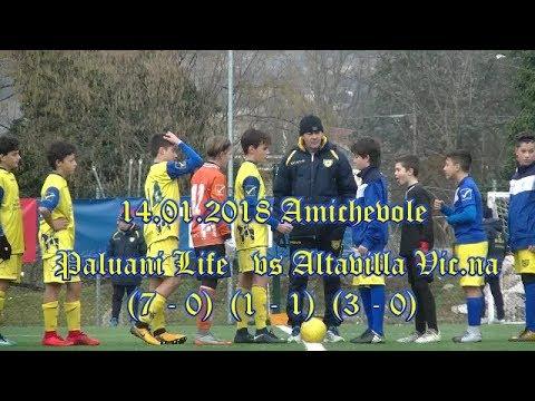 14.01.2018 – AMICHEVOLE – ESORDIENTI 2005 – PALUANI LIFE vs ALTAVILLA VICENTINA – HIGHLIGHTS