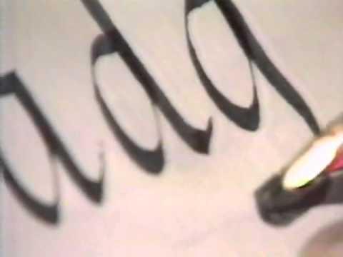 Lloyd Reynolds' Italic Calligraphy & Handwriting: Episode 3
