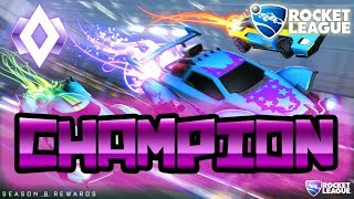 I HIT CHAMP!!!! | Rocket League PC | FACE REVEAL AT 200!!! #ROCKETPASS