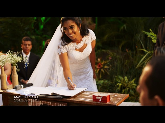 Filmagem: Trailer de Casamento Walysom e Leidiane - Fotografo em jaraguá