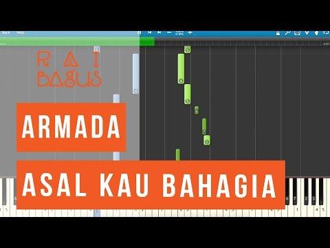 Armada - Asal Kau Bahagia Piano Tutorial (Sheet Music)