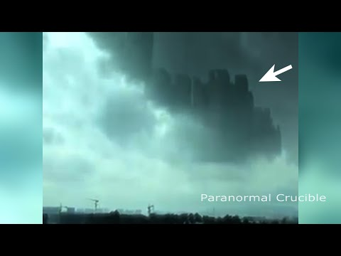 Mysterious City Appears In Sky Above China