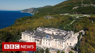 Vladimir Putin: Russian palace in Navalny video not mine - BBC News