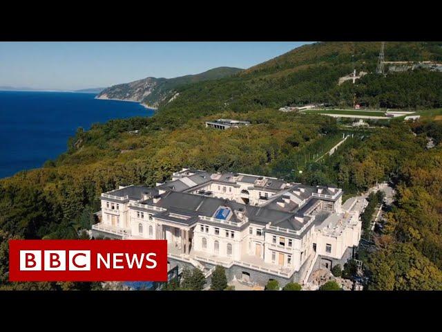 Vladimir Putin: Russian palace in Navalny video not mine - BBC News