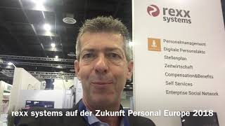Rexx systems auf der zukunft personal europe 2018. 2. tag. erleben sie die hr suite.