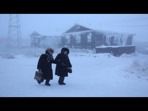 -71 Degrees in Yakutie Siberia.. Coldest village on Earth