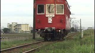 名鉄 谷汲線・揖斐線 モ700形、モ750形 廃線直前の春⑤  2001年4月 2001/4/30DV450