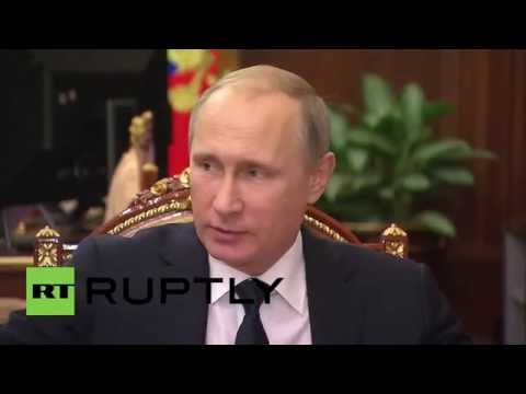 Russia: Putin discusses Moscow redevelopment with Sobyanin, Medinsky