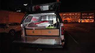 Urban Stealth Camping in my Truck